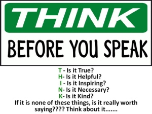 thinkbeforeyouspeak